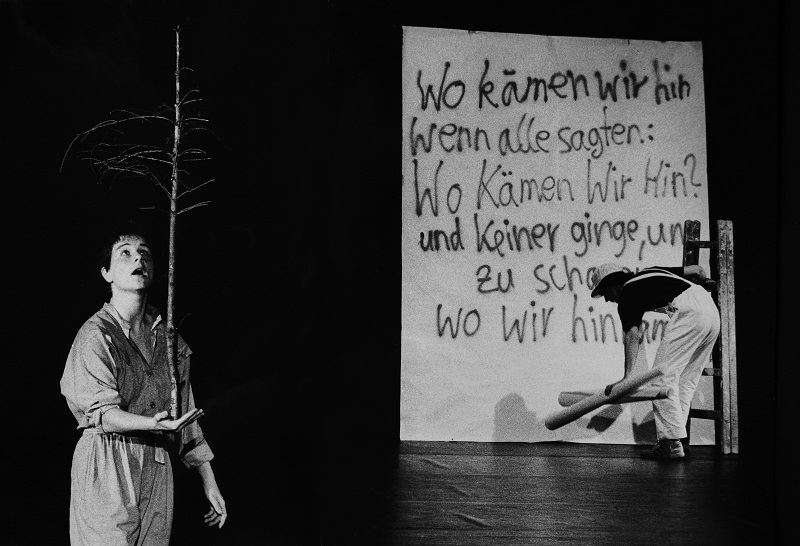 Performance Project Wo bist du Adam 1989